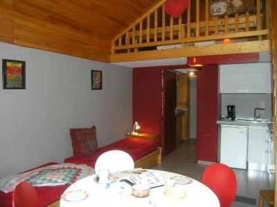 Location au ski Studio mezzanine 5 personnes (32) - Residence Les Brimbelles - Méribel - Séjour