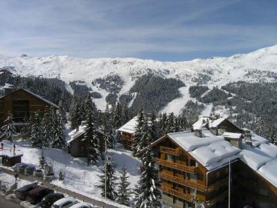 Location au ski Résidence les Carlines - Méribel - Extérieur hiver