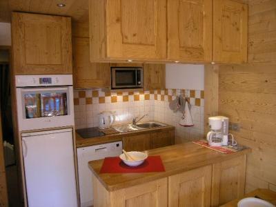 Location au ski Appartement 2 pièces 5 personnes (D16) - Résidence les Carlines - Méribel - Kitchenette