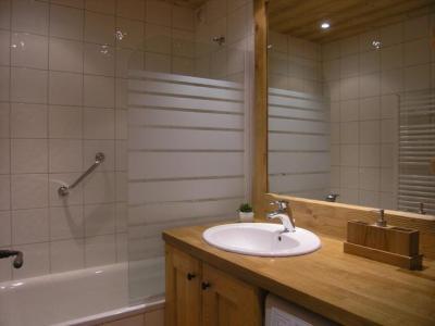 Location au ski Appartement 2 pièces 5 personnes (D16) - Residence Les Carlines - Méribel - Salle de bains