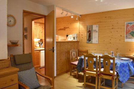 Location au ski Appartement 3 pièces 6 personnes (M1) - Résidence les Chandonnelles I - Méribel - Table