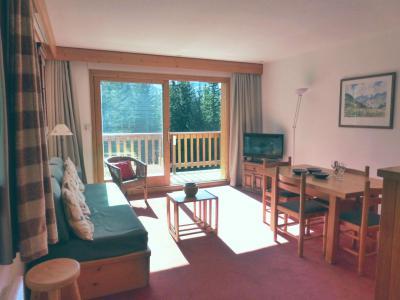 Rent in ski resort 2 room apartment sleeping corner 6 people (31R) - Résidence les Dauphinelles - Méribel - Living room