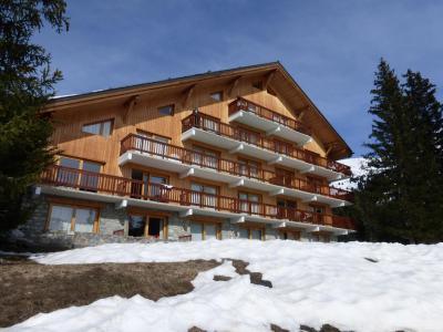 Rent in ski resort 2 room apartment sleeping corner 6 people (31R) - Résidence les Dauphinelles - Méribel - Winter outside