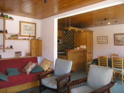 Location au ski Appartement 3 pièces 6 personnes (G8) - Residence Les Dryades - Méribel - Séjour
