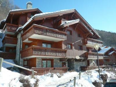 Location au ski Residence Les Fermes De Meribel Bat D - Méribel - Extérieur hiver