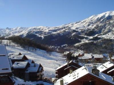 Location au ski Appartement 4 pièces 8 personnes (15) - Residence Les Fermes De Meribel Bat D - Méribel - Extérieur hiver