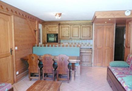 Location au ski Appartement 3 pièces 6 personnes (14) - Residence Les Fermes De Meribel Bat D1 - Méribel - Table