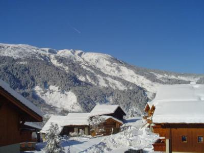 Location au ski Résidence les Fermes de Méribel Bat G - Méribel - Extérieur hiver