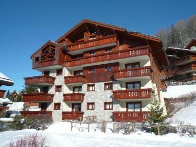 Location au ski Residence Les Fermes De Meribel Bat G - Méribel - Extérieur hiver