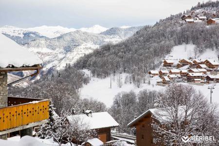 Location au ski Appartement 3 pièces 5 personnes (07) - Résidence les Fermes de Méribel Bat I - Méribel - Extérieur hiver