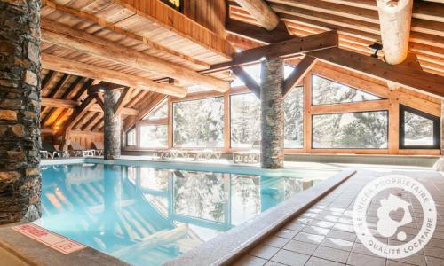 Location au ski Résidence les Fermes de Méribel - Maeva Home - Méribel - Extérieur hiver