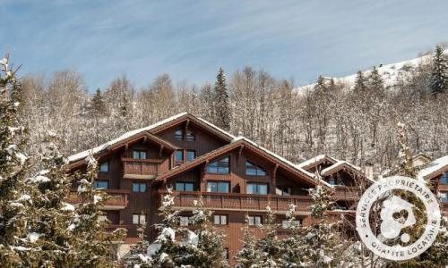 Location au ski Appartement 5 pièces 10 personnes (Prestige 95m²-4) - Résidence les Fermes de Méribel - Maeva Home - Méribel - Extérieur hiver