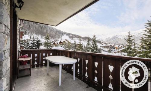Location au ski Appartement 3 pièces 6 personnes (Sélection 45m²-1) - Résidence les Fermes de Méribel - Maeva Home - Méribel - Extérieur hiver