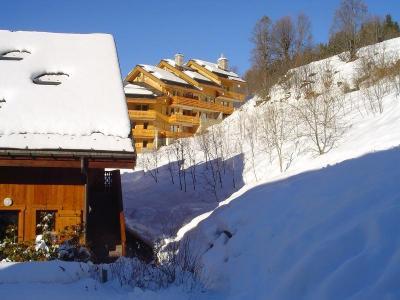 Location au ski Appartement 3 pièces 6 personnes (A6) - Résidence les Jardins du Morel - Méribel - Extérieur hiver