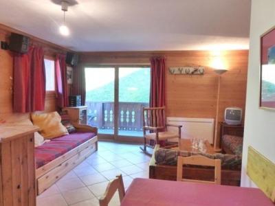 Location au ski Appartement 3 pièces 6 personnes (A6) - Résidence les Jardins du Morel - Méribel - Séjour
