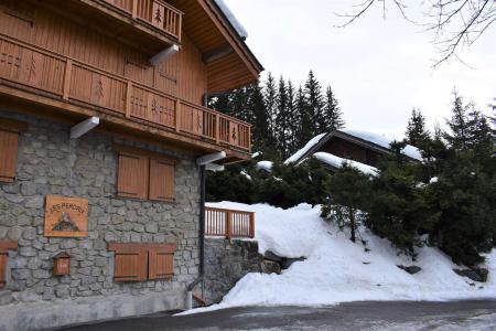 Location au ski Résidence les Perdrix - Méribel - Extérieur hiver