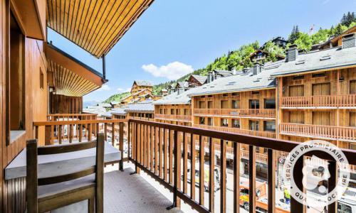 Vacances en montagne Appartement 2 pièces 4 personnes (Sélection 24m²-6) - Résidence les Ravines - Maeva Home - Méribel - Extérieur hiver