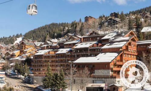 Vacances en montagne Résidence les Ravines - Maeva Home - Méribel - Extérieur hiver