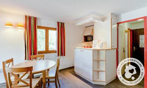 Vacances en montagne Studio 4 personnes (Confort 24m²-3) - Résidence les Ravines - Maeva Home - Méribel - Extérieur hiver