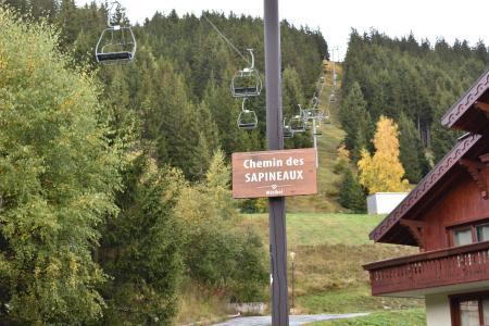 Location au ski Studio 3 personnes (C3) - Résidence les Sapineaux - Méribel