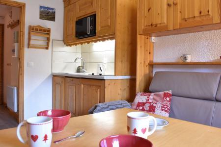 Location au ski Studio 2 personnes (C2) - Résidence les Sapineaux - Méribel - Appartement