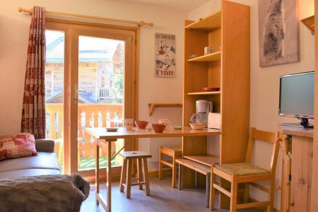 Location au ski Studio 3 personnes (C2) - Résidence les Sapineaux - Méribel - Appartement