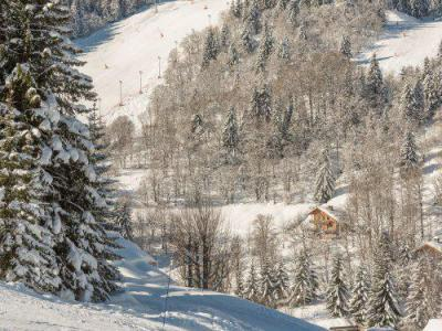 Location au ski Residence Maeva Le Peillon - Méribel - Extérieur hiver