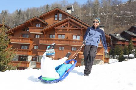 Vacances en montagne Résidence P&V Premium les Fermes de Méribel - Méribel - Extérieur hiver