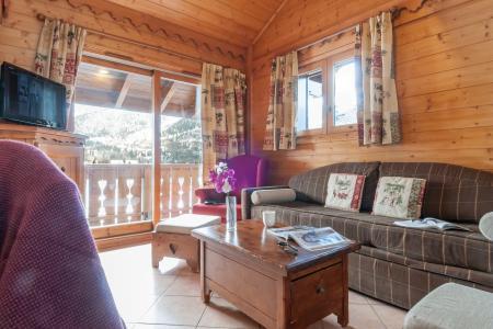 Location au ski Résidence P&V Premium les Fermes de Méribel - Méribel - Banquette
