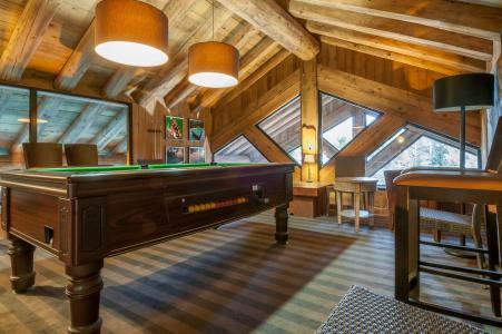 Location au ski Résidence P&V Premium les Fermes de Méribel - Méribel - Billard