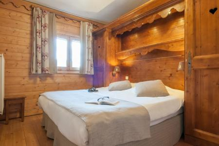 Alquiler al esquí Résidence P&V Premium les Fermes de Méribel - Méribel - Cama doble
