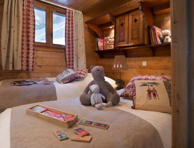Location au ski Résidence P&V Premium les Fermes de Méribel - Méribel - Chambre