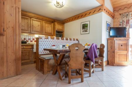 Alquiler al esquí Résidence P&V Premium les Fermes de Méribel - Méribel - Cocina