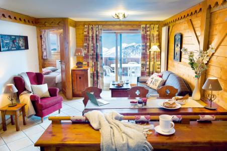 Location au ski Residence P&v Premium Les Fermes De Meribel - Méribel - Séjour