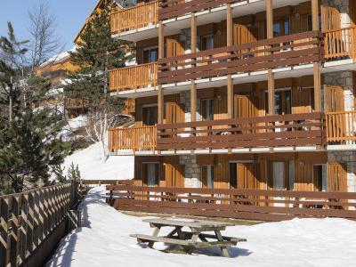 Location Méribel-Mottaret : Résidence Pierre et Vacances les Ravines hiver