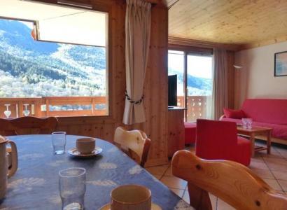 Location au ski Appartement 3 pièces 6 personnes (01) - Residence Tsanteleina - Méribel - Table