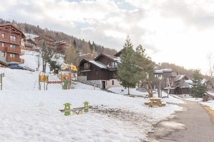 Location au ski Residence Le Mottay - Montalbert - Extérieur hiver