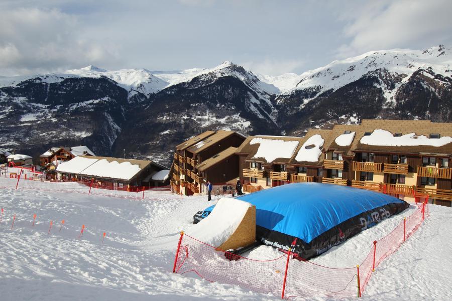 Location au ski Hôtel Club MMV les Sittelles - Montalbert - Extérieur hiver