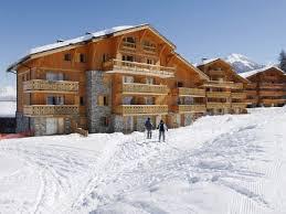 Location au ski Les Chalets de Montalbert - Montalbert - Extérieur hiver