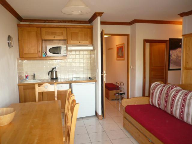 Location au ski Appartement 3 pièces 6 personnes (B21) - Les Chalets de Montalbert - Montalbert - Kitchenette