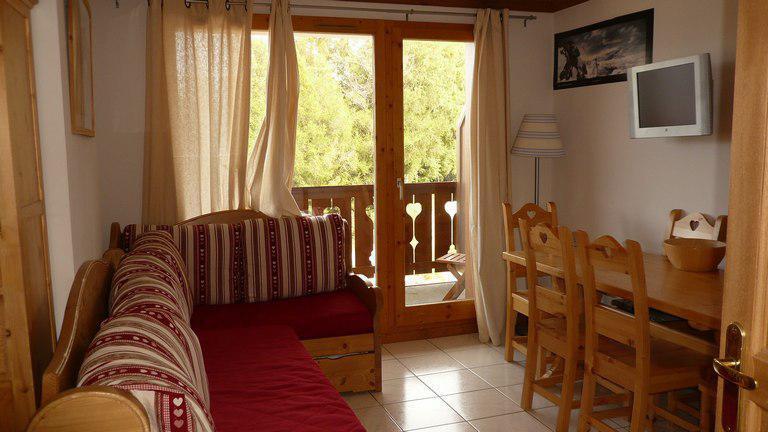 Location au ski Appartement 3 pièces 6 personnes (B21) - Les Chalets de Montalbert - Montalbert - Séjour