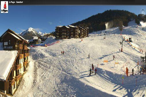 Holiday in mountain resort Résidence Choucas - Montalbert - Winter outside