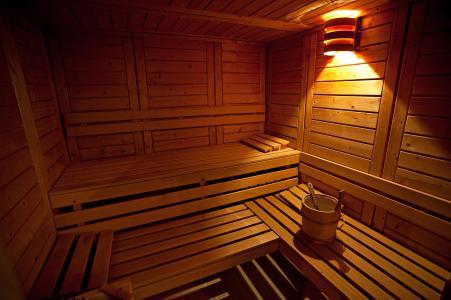 Location au ski Hotel Club Mmv Les Sittelles - Montalbert - Sauna