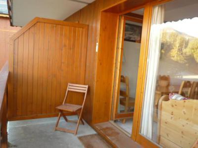 Location au ski Appartement 3 pièces 6 personnes (B21) - Les Chalets de Montalbert - Montalbert - Balcon