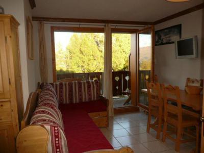Location au ski Appartement 3 pièces 6 personnes (B21) - Les Chalets de Montalbert - Montalbert - Canapé