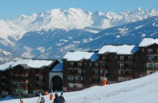 Location au ski Résidence Christiana - Montalbert - Extérieur hiver