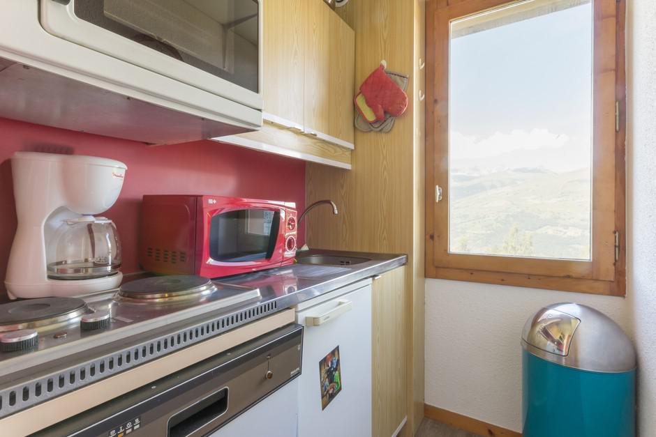 Location au ski Studio 3 personnes (5) - La Residence Le De 2 - Montchavin - La Plagne