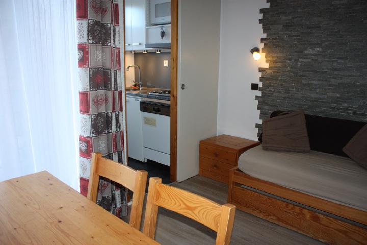 Location au ski Studio 3 personnes (2) - La Residence Le De 2 - Montchavin - La Plagne - Chaise