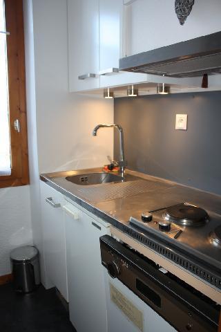 Location au ski Studio 3 personnes (2) - La Residence Le De 2 - Montchavin - La Plagne - Kitchenette