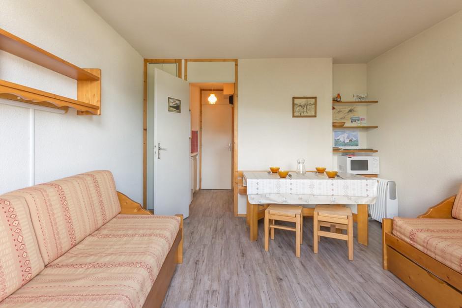 Location au ski Studio 4 personnes (ROC27) - La Residence Les Roches - Montchavin - La Plagne